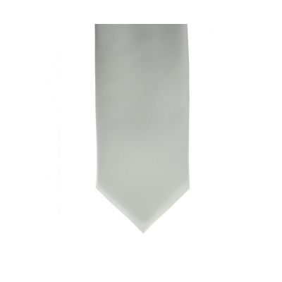 ShowQuest Plain Tie- White